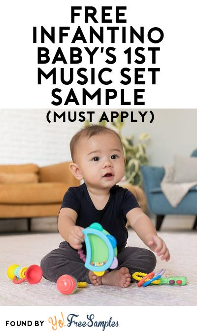 FREE Infantino Baby's 1st Music Set Sample At BzzAgent (Must Apply)
