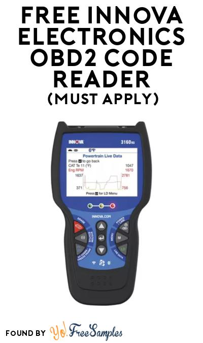 FREE Innova Electronics OBD2 Code Reader At BzzAgent (Must Apply)