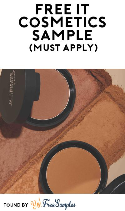 FREE IT Cosmetics Sample At BzzAgent (Must Apply)
