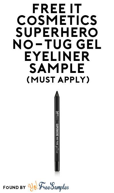 FREE IT Cosmetics Superhero No-Tug Gel Eyeliner Sample At BzzAgent (Must Apply)