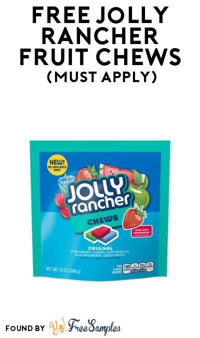FREE Jolly Rancher Fruit Chews At BzzAgent (Must Apply)