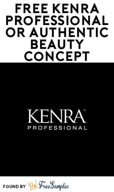 FREE Kenra Professional Or Authentic Beauty Concept Sample At BzzAgent (Must Apply)