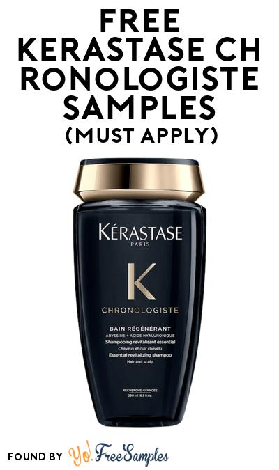 FREE Kerastase Chronologiste Hair Care Samples At BzzAgent (Must Apply)
