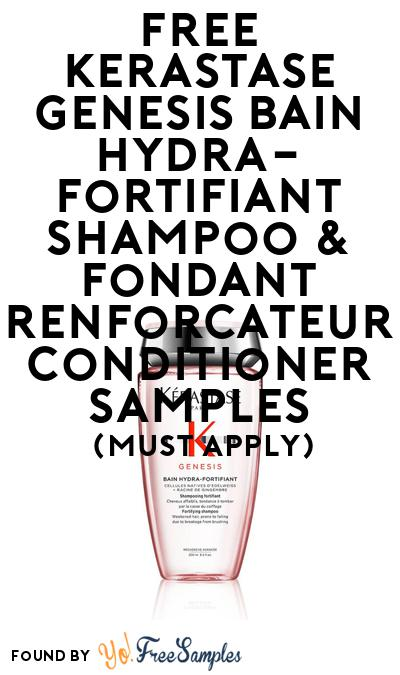 FREE Kerastase Shampoo & Conditioner Samples At BzzAgent (Must Apply)