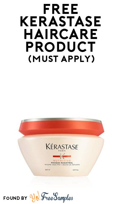 FREE Kerastase Haircare Product At BzzAgent (Must Apply)