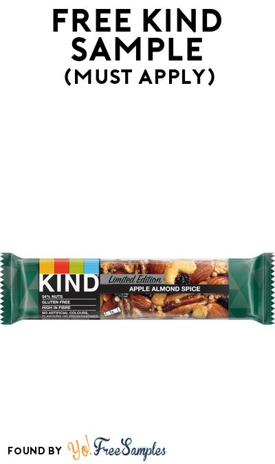 FREE Kind Apple Almond Spice At BzzAgent (Must Apply)
