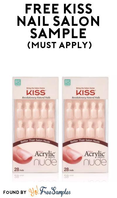 FREE Kiss Nail Salon Sample At BzzAgent (Must Apply)