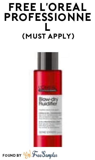FREE L'Oreal Professionnel Hair Care Products At BzzAgent (Must Apply)