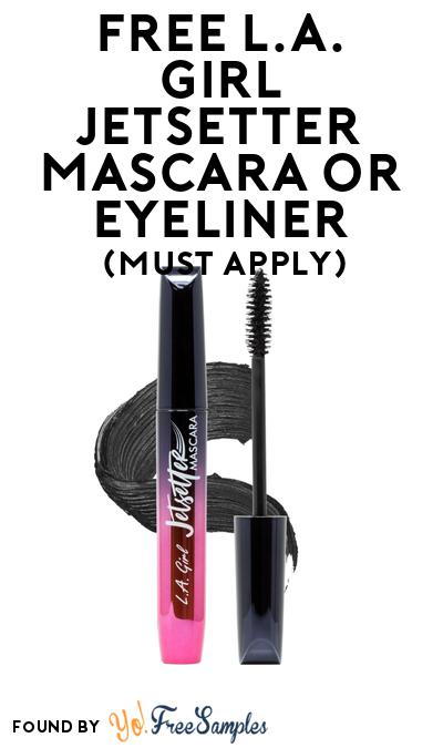 FREE L.A. Girl Jetsetter Mascara or Eyeliner At BzzAgent (Must Apply)