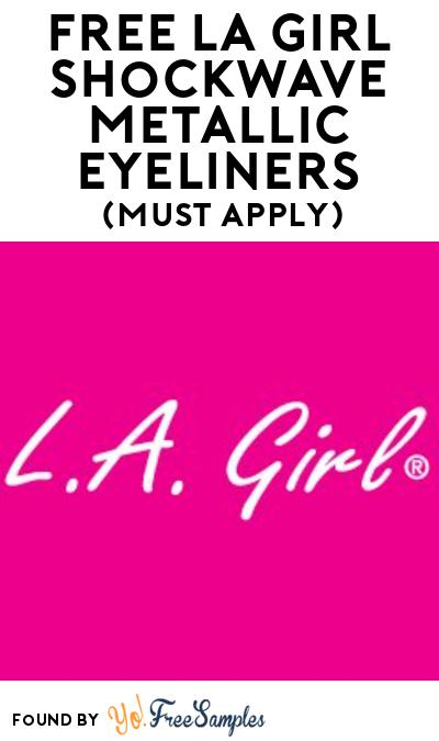 FREE L.A. Girl Shockwave Metallic Eyeliners At BzzAgent (Must Apply)