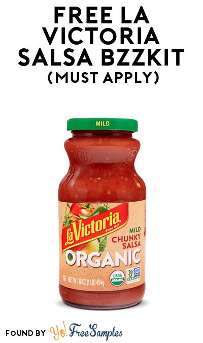 FREE La Victoria Salsa Bzzkit At BzzAgent (Must Apply)