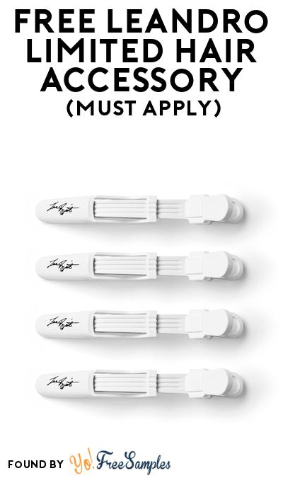 FREE Leandro Limited Hair Accessory At BzzAgent (Must Apply)