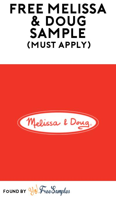 FREE Melissa & Doug Sample At BzzAgent (Must Apply)