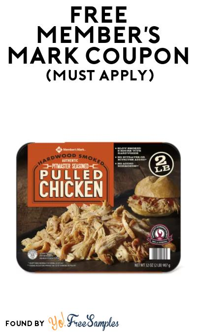 FREE Member's Mark Pulled Chicken Coupon At BzzAgent (Must Apply)