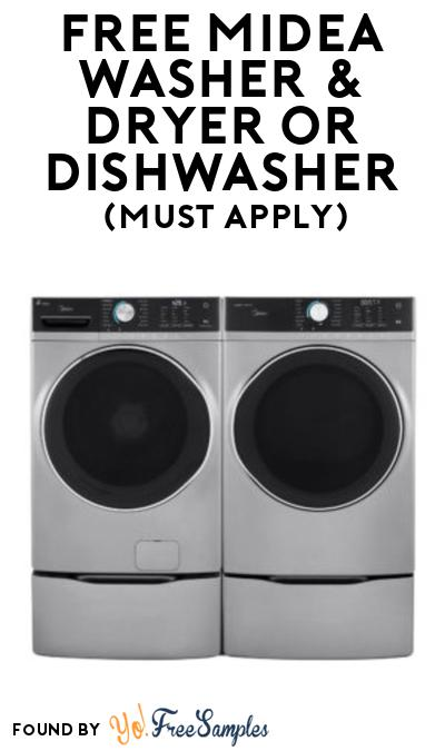 FREE Midea Washer & Dryer Or Dishwasher At BzzAgent (Must Apply)