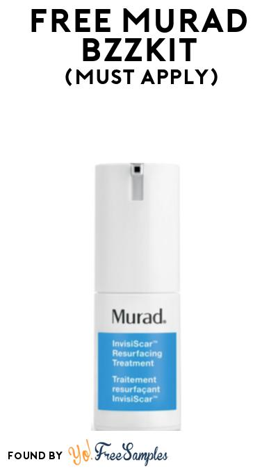 FREE Murad Bzzkit At BzzAgent (Must Apply)