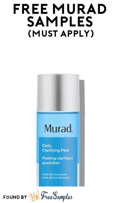 FREE Murad Beauty Samples At BzzAgent (Must Apply)