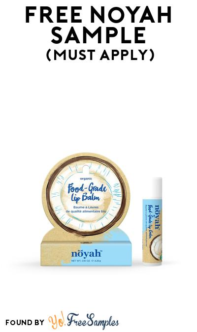 FREE Noyah Sample At BzzAgent (Must Apply)