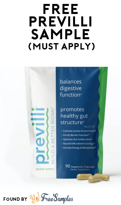 FREE Previlli Sample At BzzAgent (Must Apply)