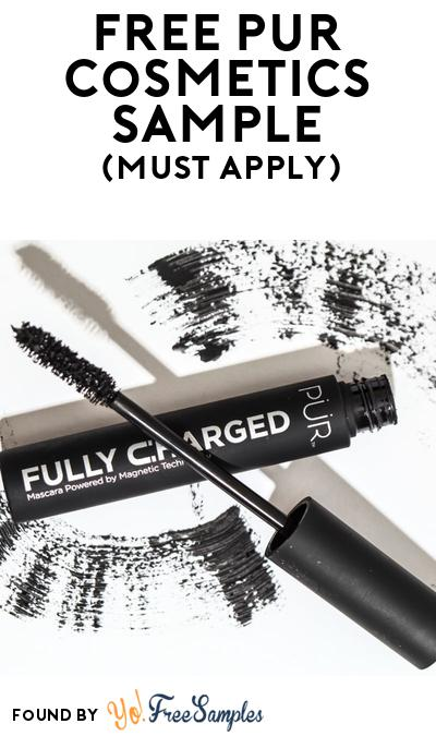 FREE Pur Cosmetics Sample At BzzAgent (Must Apply)