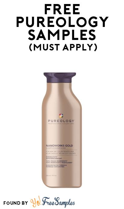 FREE Pureology Samples At BzzAgent (Must Apply)