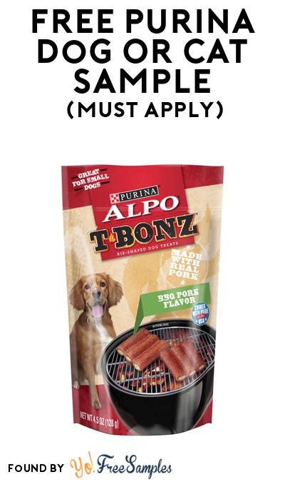 FREE Purina Dog Or Cat Sample At BzzAgent (Must Apply)