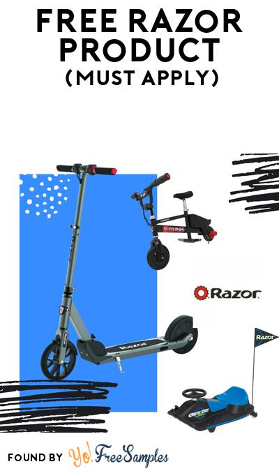 FREE Razor Scooter Product At BzzAgent (Must Apply)