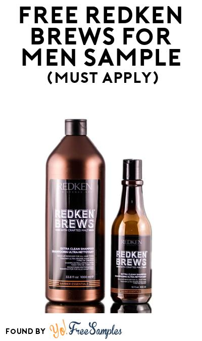 FREE Redken Brews For Men Sample At BzzAgent (Must Apply)