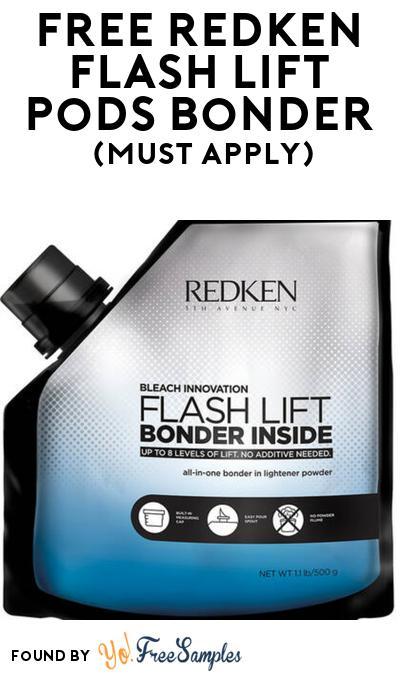 FREE Redken Flash Lift Pods Bonder At BzzAgent (Must Apply)