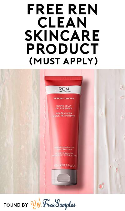 FREE Ren Clean Skincare Product At BzzAgent (Must Apply)