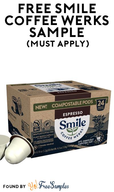 FREE Smile Coffee Werks Sample At BzzAgent (Must Apply)