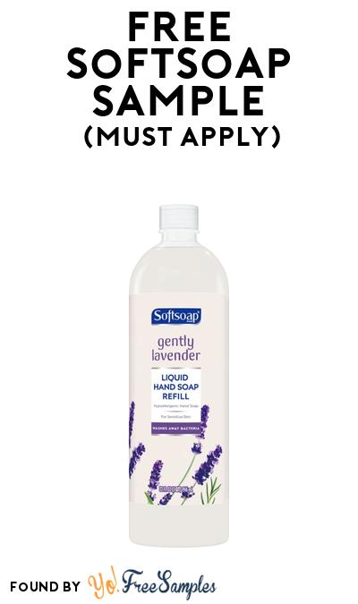 FREE Softsoap Sample At BzzAgent (Must Apply)