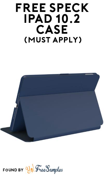 FREE Speck Ipad 10.2 Case At BzzAgent (Must Apply)