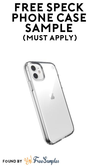 FREE Speck Phone Case Sample At BzzAgent (Must Apply)