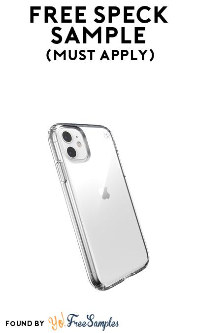 FREE Speck Phone Case or Accessory Sample At BzzAgent (Must Apply)
