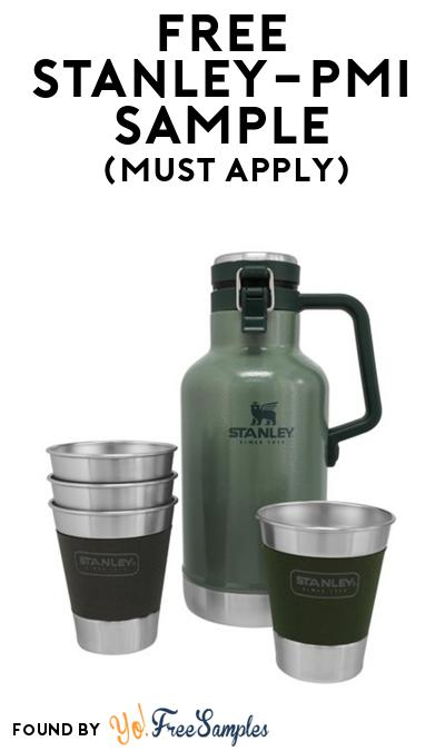 FREE Stanley PMI Cookware, Mug or Other Sample At BzzAgent (Must Apply)