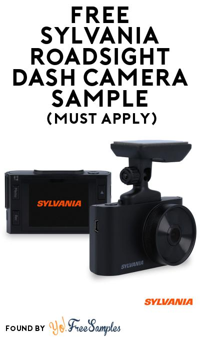 FREE Sylvania Roadsight Dash Camera Sample At BzzAgent (Must Apply)