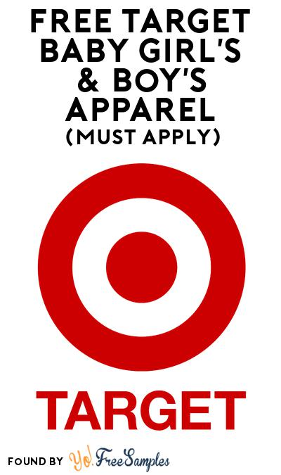 FREE Target Baby Girl's & Boy's Apparel At BzzAgent (Must Apply)
