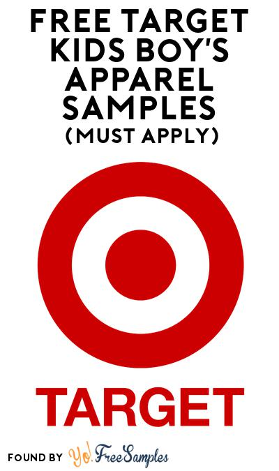 FREE Target Kids Boy's Apparel Samples At BzzAgent (Must Apply)