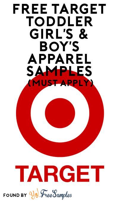 FREE Target Toddler Girl's & Boy's Apparel Samples At BzzAgent (Must Apply)