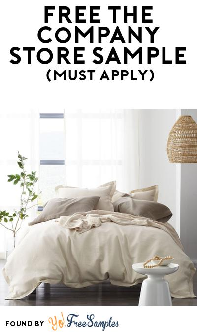 FREE The Company Store Bedding Sample At BzzAgent (Must Apply)
