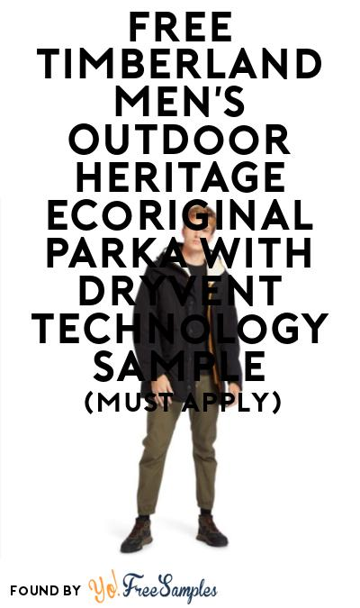 FREE Timberland Men's Outdoor Heritage Ecoriginal Parka At BzzAgent (Must Apply)