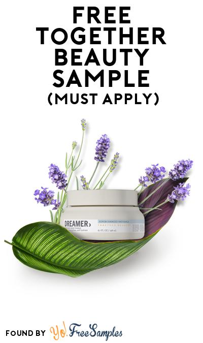 FREE Together Beauty Sample At BzzAgent (Must Apply)