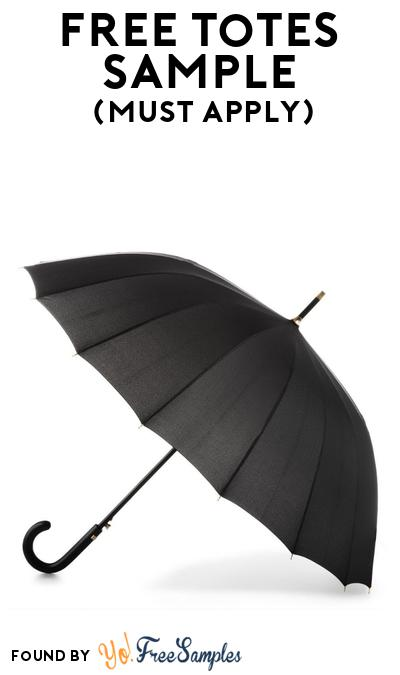 FREE Totes Umbrella At BzzAgent (Must Apply)