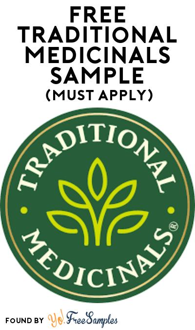 FREE Traditional Medicinals Tea Sample At BzzAgent (Must Apply)