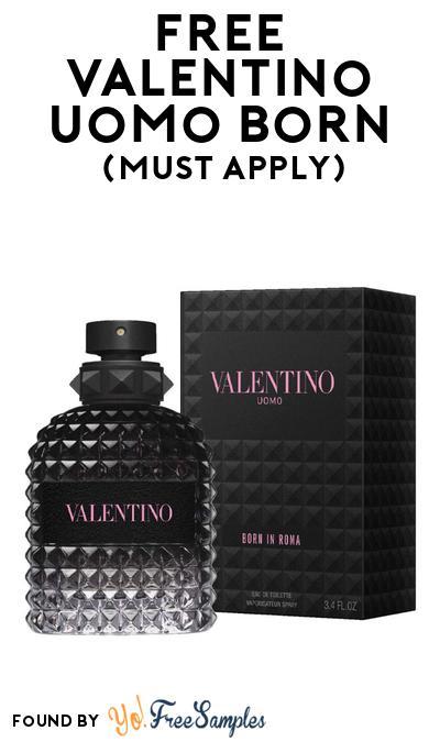 FREE Valentino Uomo Born Fragrance At BzzAgent (Must Apply)