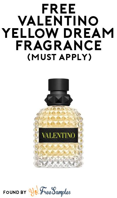 FREE Valentino Yellow Dream Fragrance At BzzAgent (Must Apply)