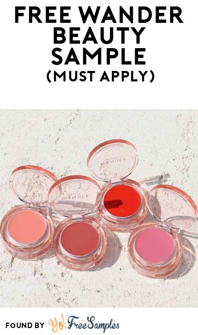 FREE Wander Beauty Makeup Sample At BzzAgent (Must Apply)