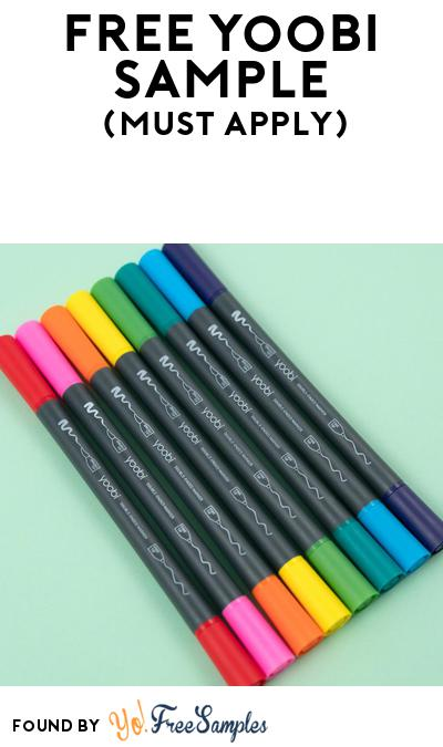 FREE Yoobi School Supplies At BzzAgent (Must Apply)