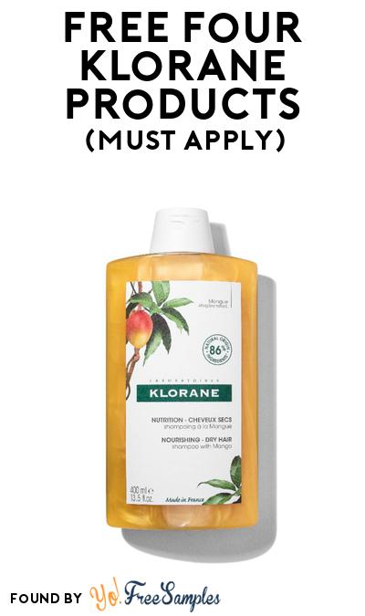 4 FREE Klorane Products At BzzAgent (Must Apply)
